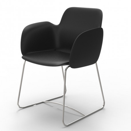 Chaise de repas Pezzettina, Vondom noir