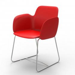 Chaise de repas Pezzettina, Vondom rouge