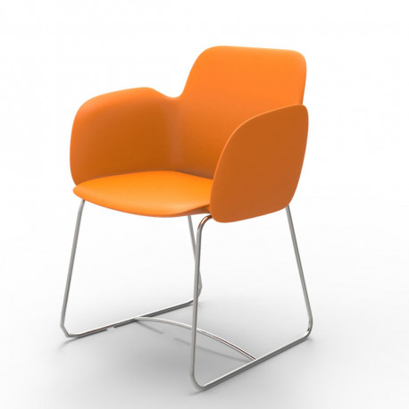 Chaise de repas Pezzettina, Vondom orange