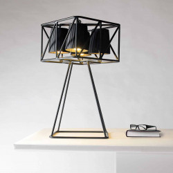 Lampe de table multilamp, Seletti noir