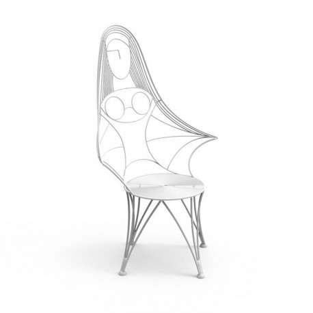 Chaise design Ivana, Talenti blanc