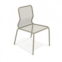 Chaise Bend, Talenti taupe