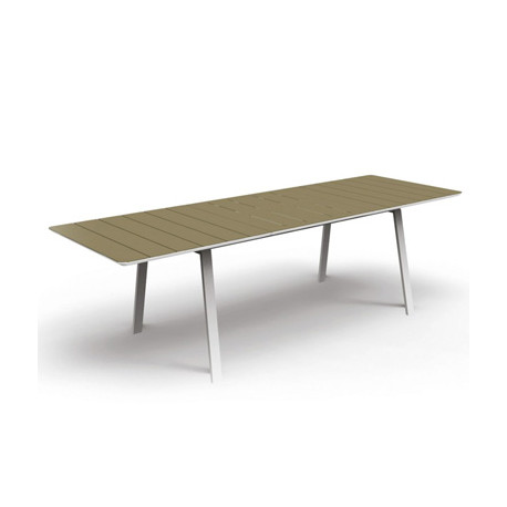 Table extensible Bend, Talenti taupe