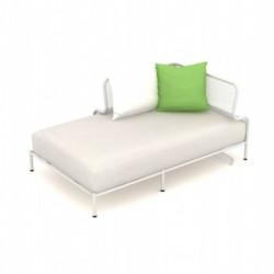 Module d'angle de canapé XL Bend, Talenti blanc