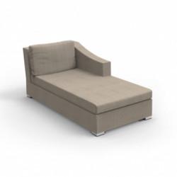 Module droit de canapé Chic XL, Talenti taupe