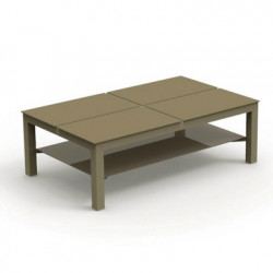 Table basse avec plateaux Chic, Talenti taupe