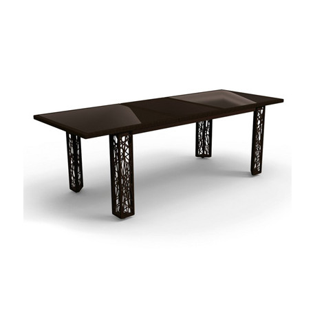 Table extensible Spider, Talenti osier noir