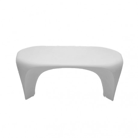 Table basse design Lily, MyYour blanc Mat