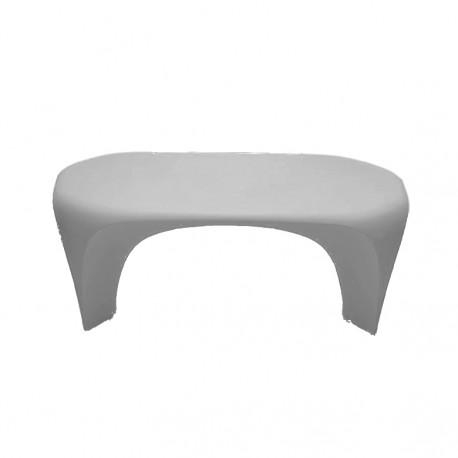 Table basse design Lily, MyYour gris acier laqué