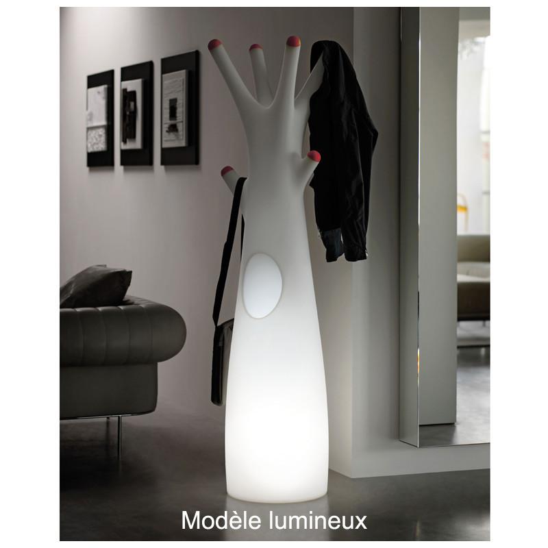 Porte-Manteau Arbre Design Godot, Plust Collection Blanc, Embouts