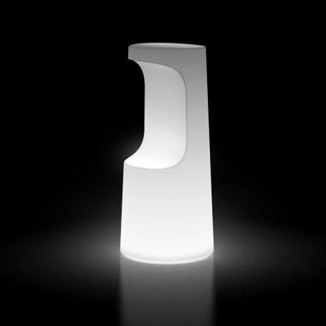 Tabouret haut design Fura, Plust Collection lumineux