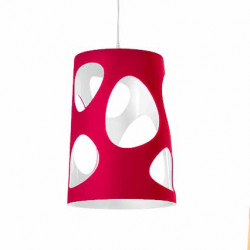 Suspension design Liberty, MyYour rouge Laqué taille S