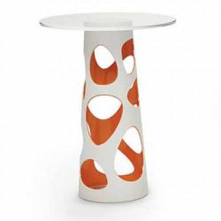Table mange debout Liberty XL, MyYour orange Diamètre 70 cm
