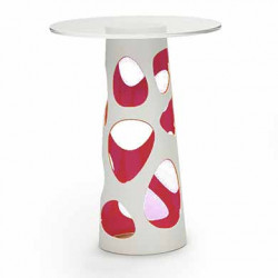 Table mange debout Liberty XL, MyYour rose Diamètre 70 cm