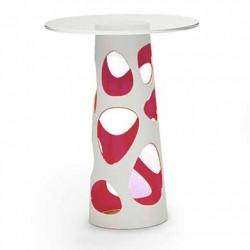 Table mange debout Liberty XL, MyYour rose Diamètre 70 cm