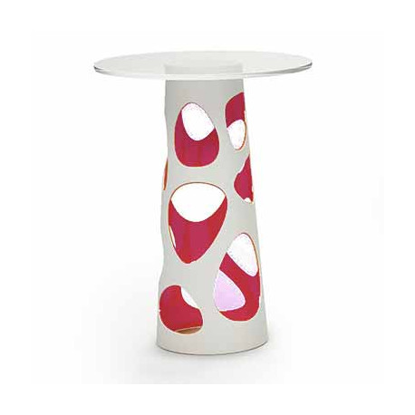 Table mange debout Liberty XL, MyYour lilas Diamètre 70 cm