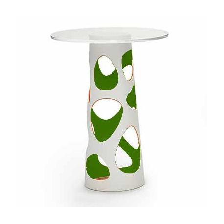 Table mange debout Liberty XL, MyYour vert Diamètre 70 cm