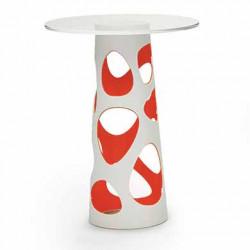 Table mange debout Liberty XL, MyYour rouge Diamètre 90 cm