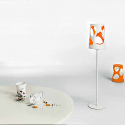 Lampadaire design Liberty, MyYour orange Hauteur 190 cm