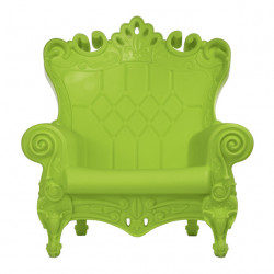 Fauteuil design Queen of Love, Design of Love by Slide vert