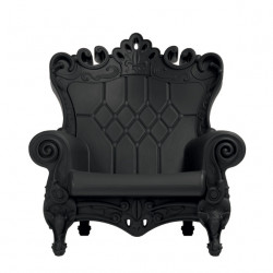 Fauteuil Trône Queen of Love, Design of Love by Slide noir