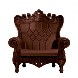 Fauteuil design Queen of Love, Design of Love by Slide chocolat