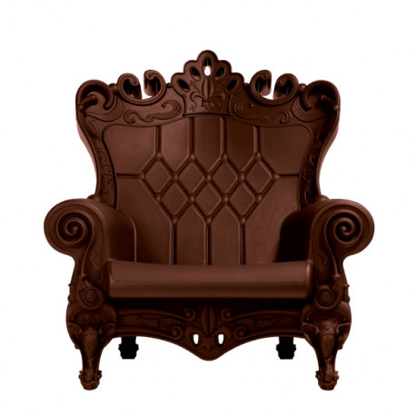 fauteuil trone Queen of Love, Design of Love by Slide chocolat