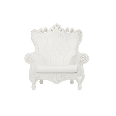 Fauteuil design Little Queen of Love, Design of Love by Slide blanc