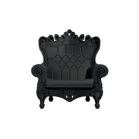 Fauteuil design Little Queen of Love, Design of Love by Slide noir