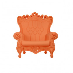 Fauteuil design Little Queen of Love, Design of Love by Slide orange