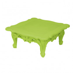 Table basse design Duke of Love, Design of Love by Slide vert citron