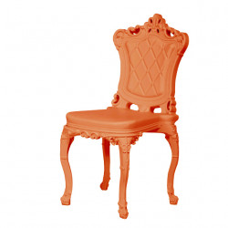 Chaise design Princess of Love, Design of Love by Slide orange