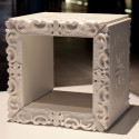 Cube-étagère design Joker of Love, Design of Love by Slide blanc