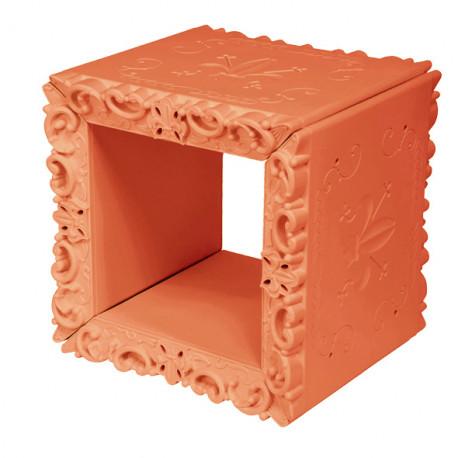 Cube-étagère design Joker of Love, Design of Love by Slide orange