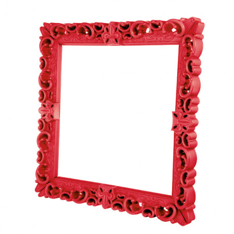 Cadre design frame of love design of love by slide rouge cerise sur la deco - Cadre photo rouge design ...