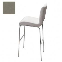 Tabouret design Stone, hauteur d'assise 75 cm, Midj gris clair