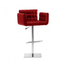 Tabouret design Marsiglia, Midj rouge