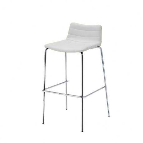 Tabouret design Cover, Midj blanc