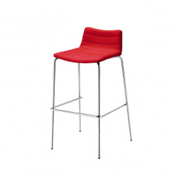 Tabouret design Cover, Midj rouge