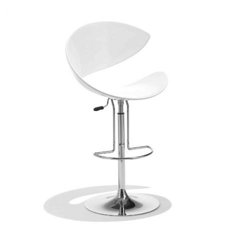 Tabouret design Twist, Midj blanc