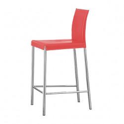 Tabouret design Flona, Midj rouge
