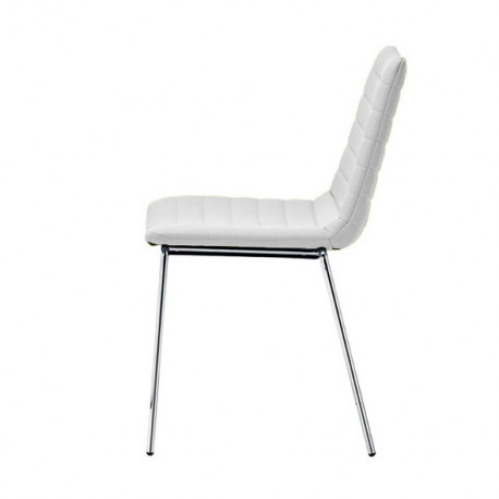 Chaise design Cover, Midj blanc