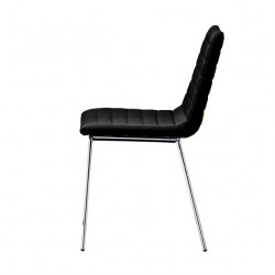Chaise design Cover, Midj noir