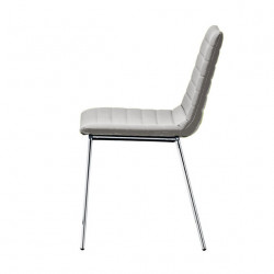 Chaise design Cover, Midj gris clair