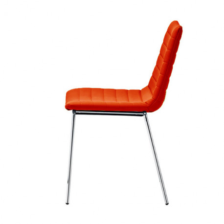 Chaise Design Cover Midj Rouge