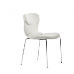 Chaise design Italia, Midj blanc