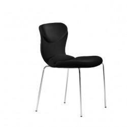 Chaise design Italia, Midj noir