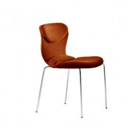 Chaise design Italia, Midj marron
