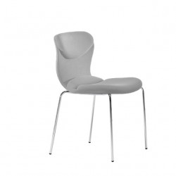 Chaise design Italia, Midj gris clair