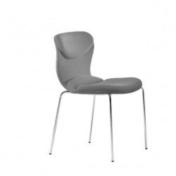 Chaise design Italia, Midj gris foncé